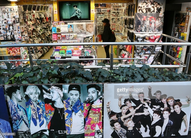 An idol shop in Harajuku