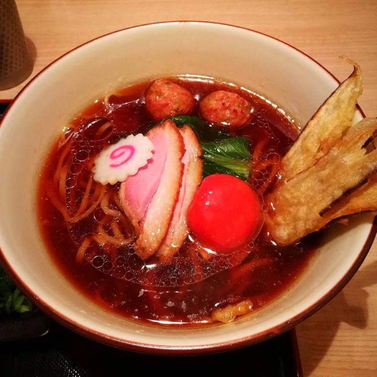 Duck soba, in Kyudaime Keisuke, Ginza