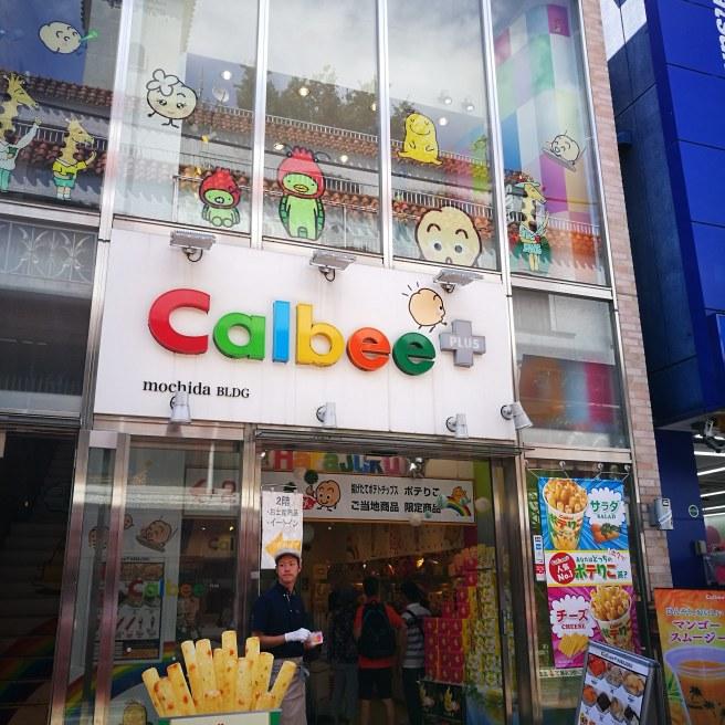 Calbee Cafe at Harajuku