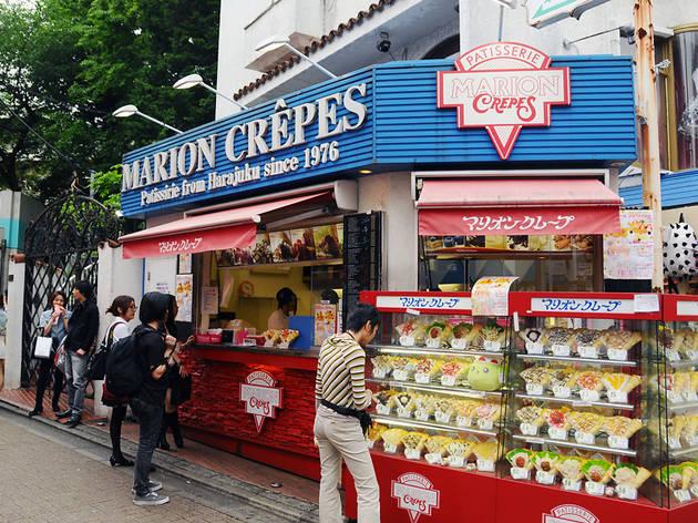 Marion crepes, Harajuku